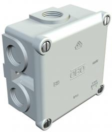 Junction box, B 9/B M, with thread