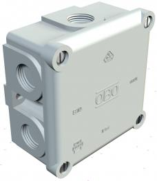 Junction box, B 10 M, with thread