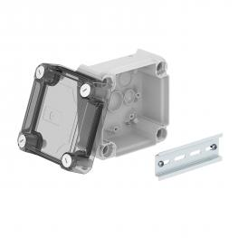 Junction box T60, closed, transparent elevated cover