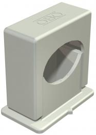 Pressure ISO clip 3051, single, light grey