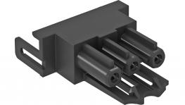 Connection adapter, straight, socket part
