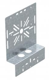 Mounting plate, angled FS