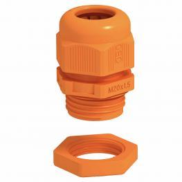 Cable gland with locknut asa set
