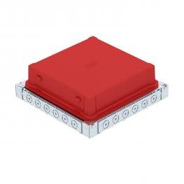 Underfloor box UDS9 for installation pipe and metal duct