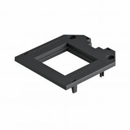 Cover plate for universal support UT3, Modul 45® installation opening