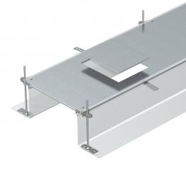 Trunking unit for GES6, height 40−240 mm