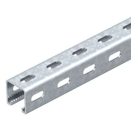 MS4141PP mounting rail, slot width 22 mm, FT, perforated