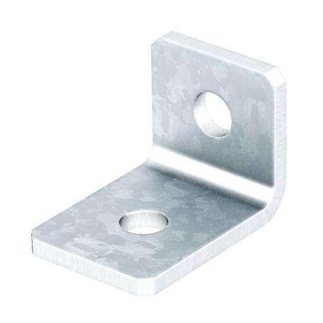 Mounting bracket, 90° with 2 holes FT