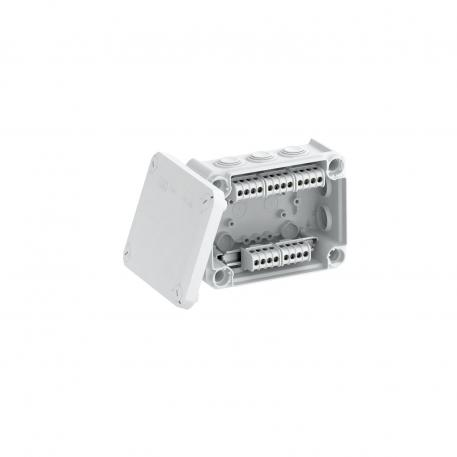 Junction box T 100, plug-in seal, terminal strip