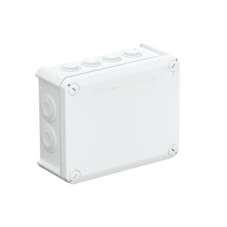Junction box T 160, plug-in seal, flame-resistant