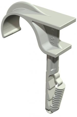 Single push-fit clip