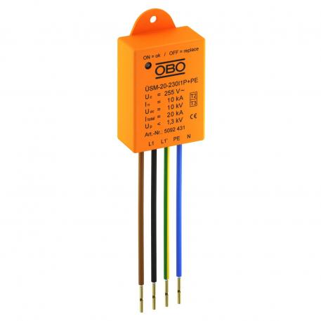Surge protection for LED systems ÜSM-20-230I1P+PE