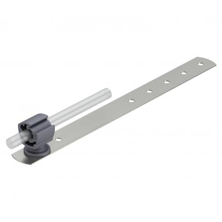 Roof conductor holder for tiled and slated roofs