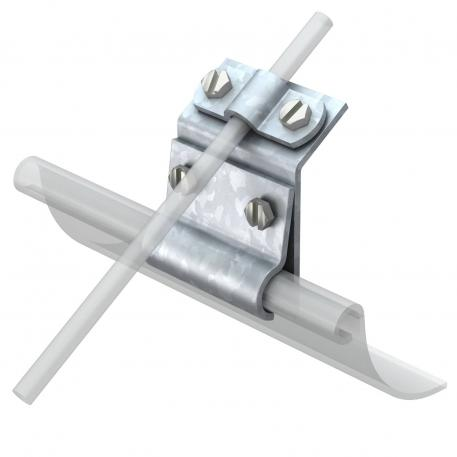 Gutter clamp for bead thickness 15−22 mm FT