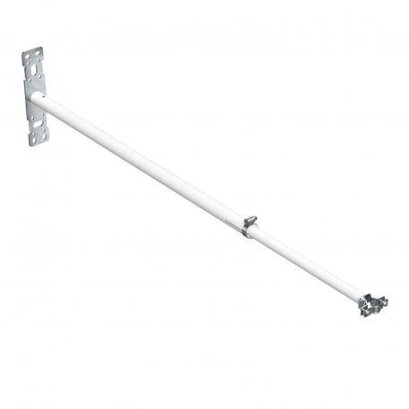 Adjustable insulating beam − wall