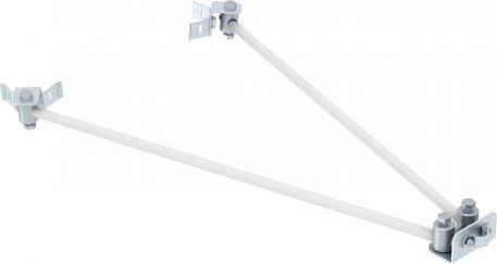 Insulated lightning protection set, VRS fastening