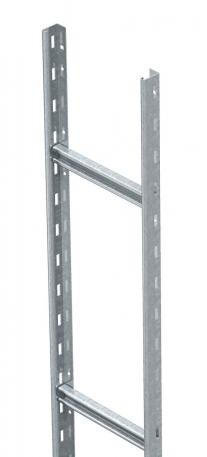 Medium-duty vertical cable ladder SLL 60, 6 m CPS4 FS