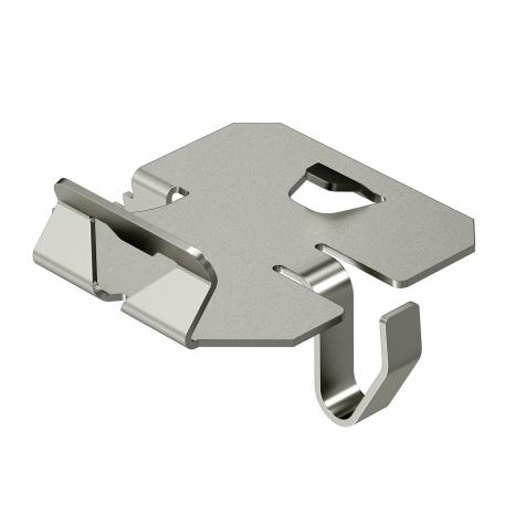 Hold-down clamp for barrier strip fastening in RKSM A2