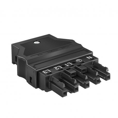 Socket section 5-pin