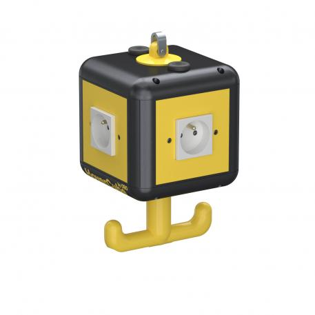 HoverCube VH-4, 4x earthing pin socket