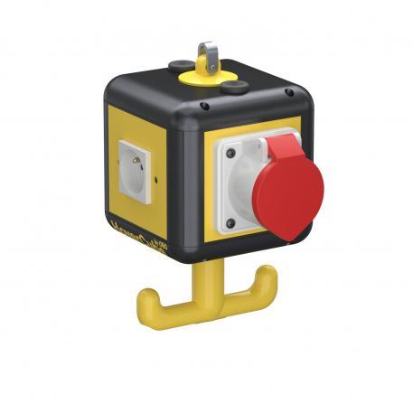 HoverCube VH-4, 3x earthing pin socket, 1x CEE 16 A