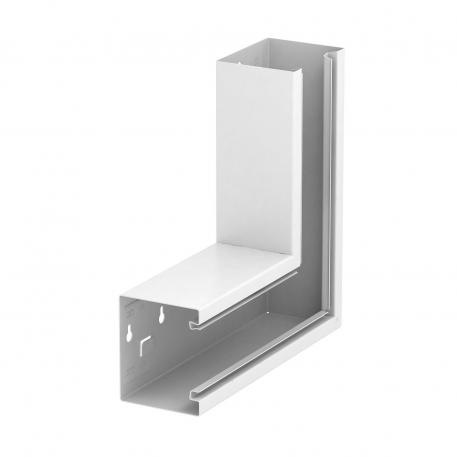 Flat angle, trunking height 90 mm