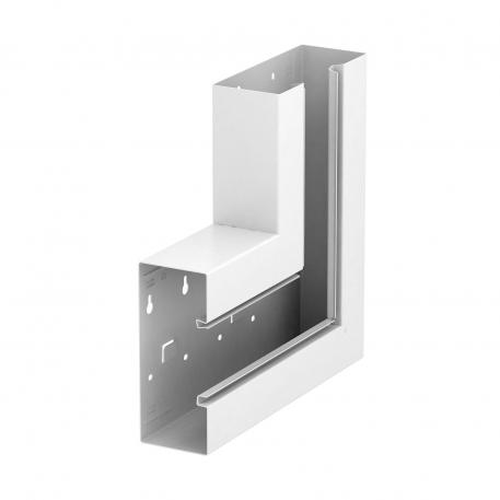 Flat angle, trunking height 70 mm