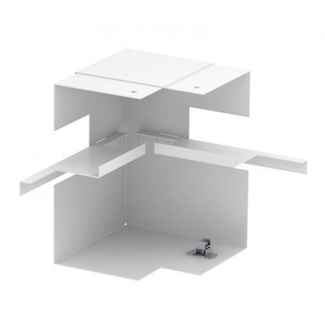 Internal corner, simplified, trunking height 90 mm