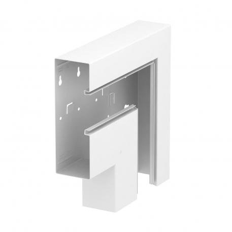 Flat angle, falling, trunking height 70 mm