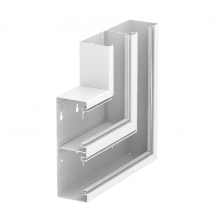 Flat angle, rising, trunking height 70 mm