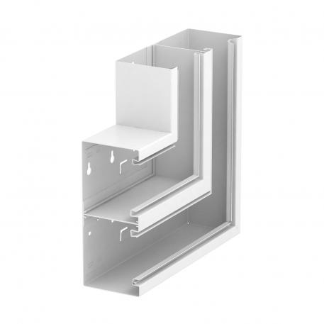 Flat angle, rising, trunking height 90 mm