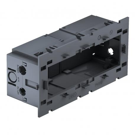 Accessory mounting box, triple, for Modul 45®