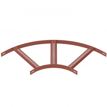 90° bend with trapezoidal rung, SG
