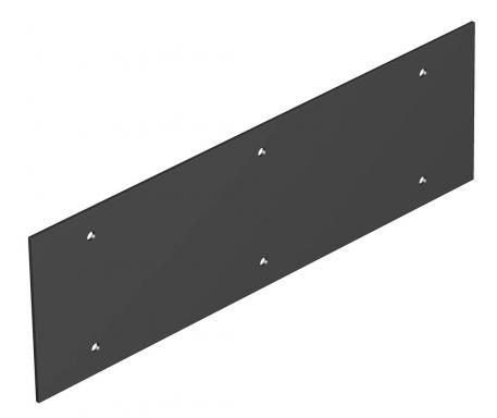 Cover plate, Telitank T12L, blank, for lengthwise side