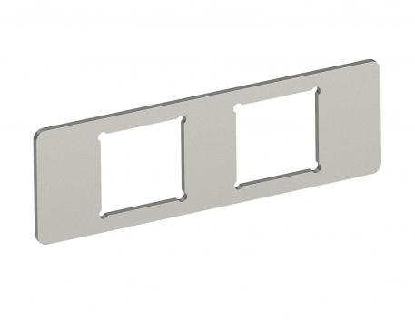 Mounting plate 2 x data socket type A for System 55