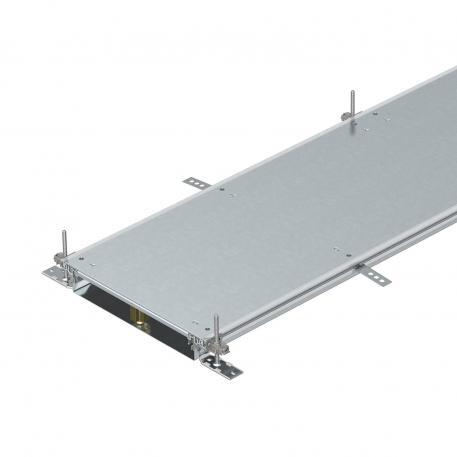 Trunking unit, blank, locking, height 60−110 mm